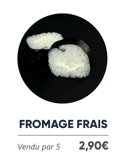 Fromage Frais - Japan Burger