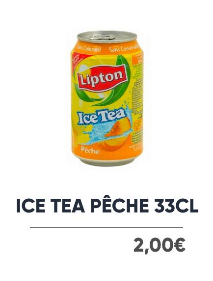 Ice Tea Pêche - Japan Burger