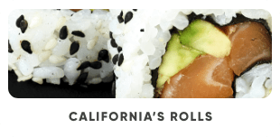 California's Rolls - Japan Burger
