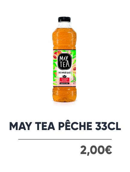 May Tea Pêche - Japan Burger