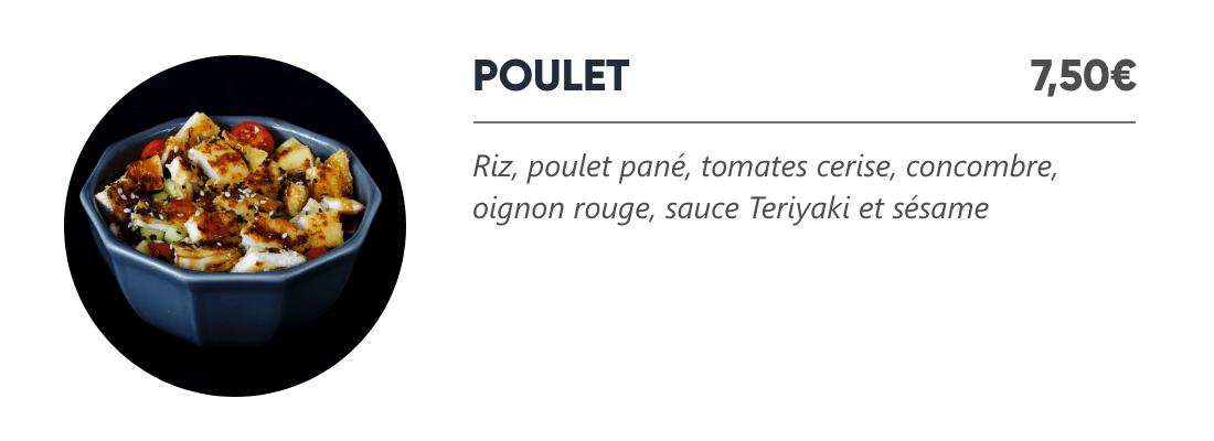 Poulet - Japan Burger
