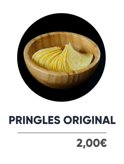 Pringles Original - Japan Burger