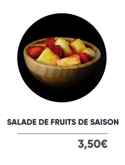 Salade de Fruits de Saison - Japan Burger