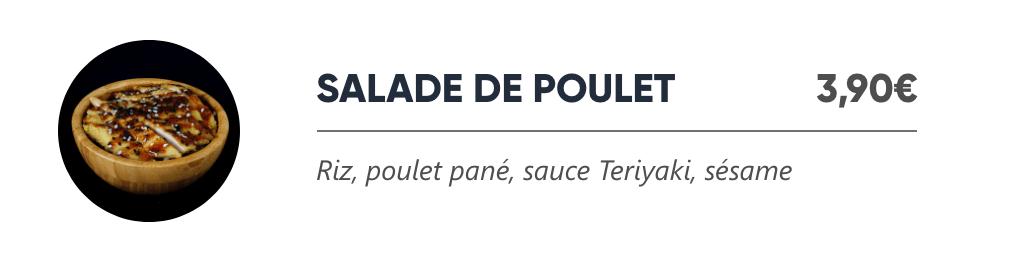 Salade de Poulet - Japan Burger