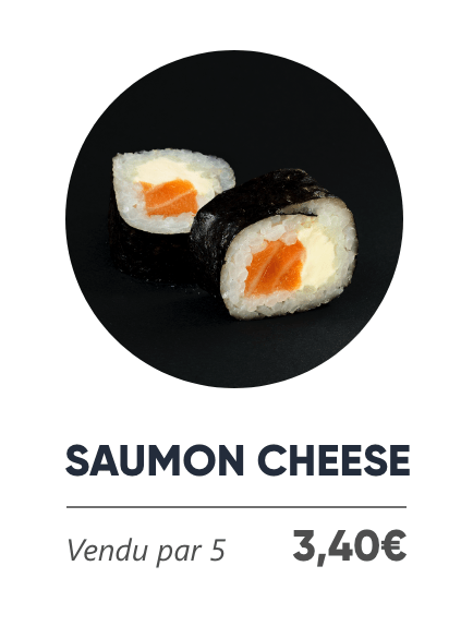 Saumon Cheese - Japan Burger