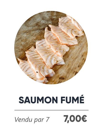 Saumon Fumé - Japan Burger