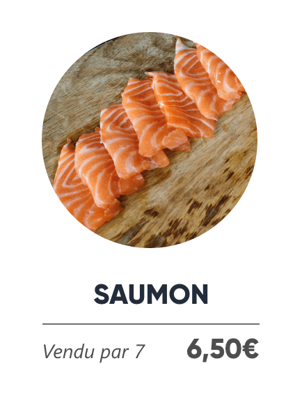 Saumon - Japan Burger