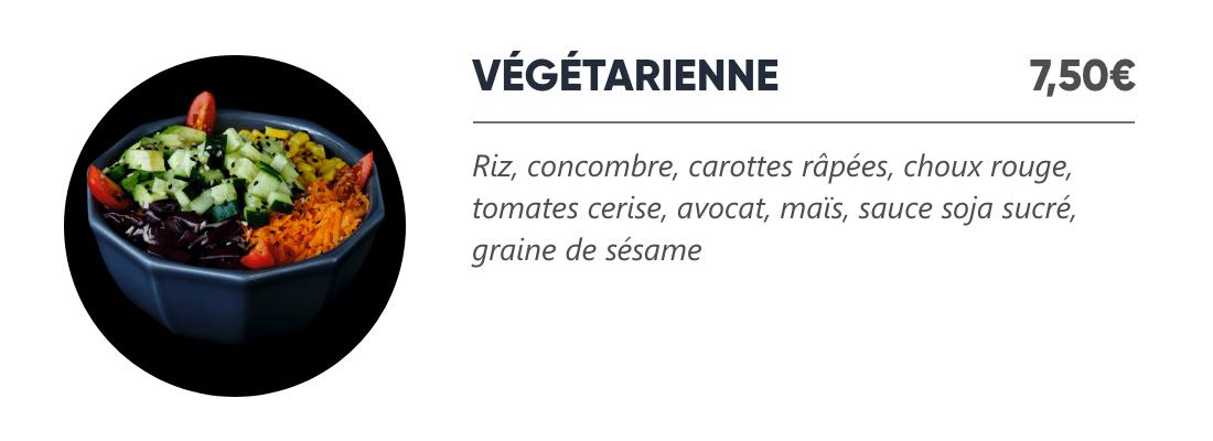 Végétarienne - Japan Burger